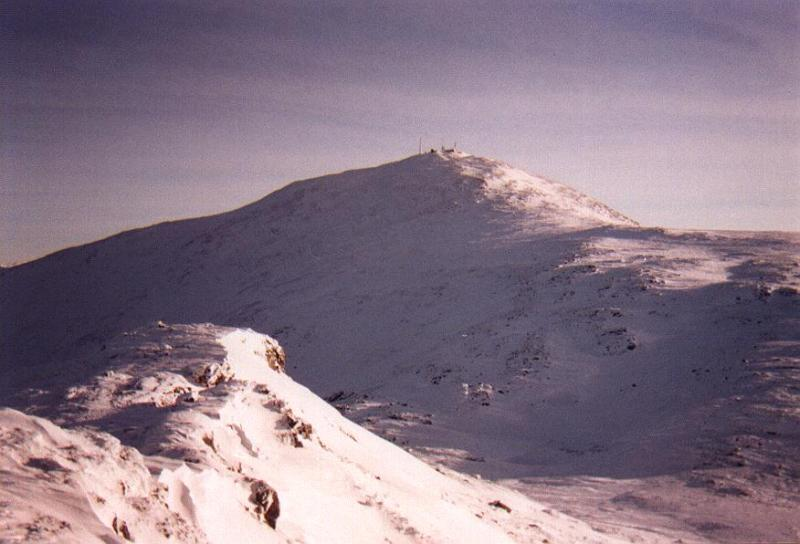 Mt. Washington & the Southern Presidentials (March 1996)