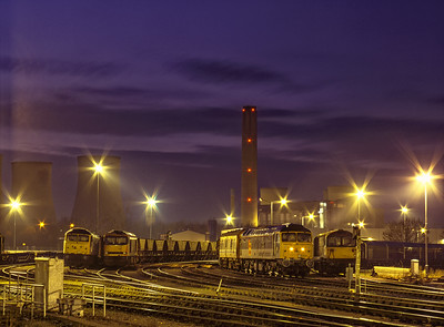 Didcot Yard at Night.
