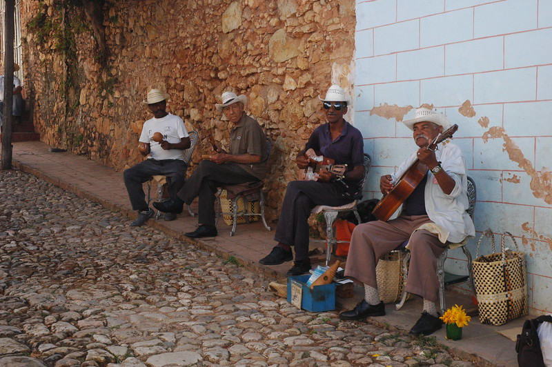 Los Pinos band in Trinidad - Leslie Rowley