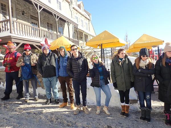 Junior Class Trip to Quebec