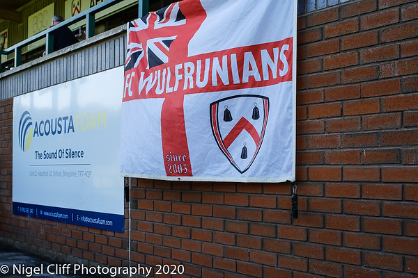 FA Vase AFC Wulfrunians 0 Uttoxeter Town 3 (19.09.2020)