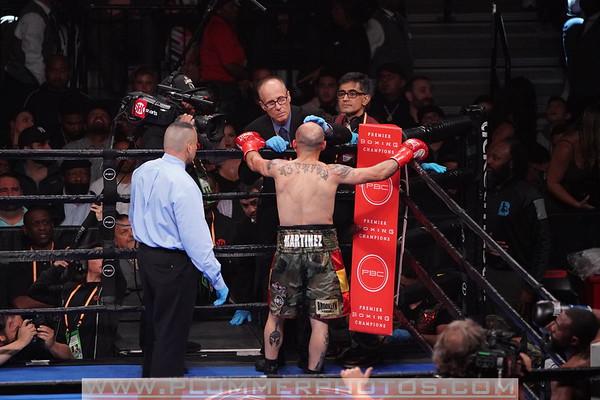 Gary Russell Jr. Defeats Kiko Martinez by 5th Round TKO