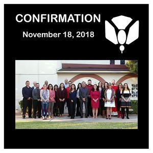 Confirmation November 2018