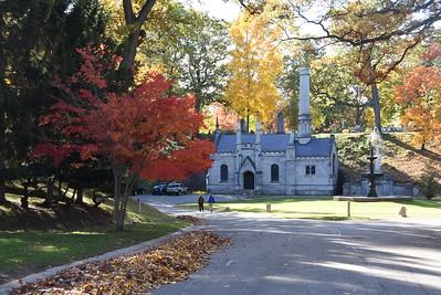 Mount Hope Cemetery autumn views. 10/26/2015