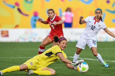 2015 Pan Am Games - Women's Soccer - Canada vs Costa Rica.