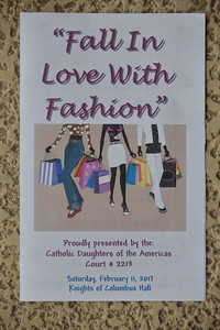 2-11-17 Catholic Daughters Fashion Show