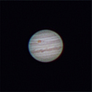 Jupiter at Opposition - 11/5/2018 (Re-Processed cropped stack)