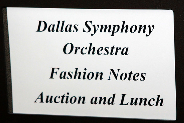DSO Fashion Notes - Auction & Luncheon