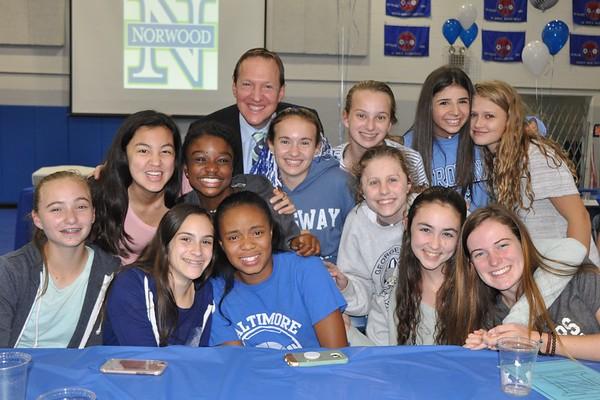 Celebrating a Great Year of Blue Hawk Athletics