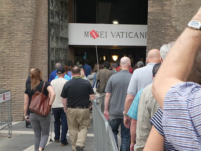 2018-04-23 - 24 - Welcome and Vatican Tour