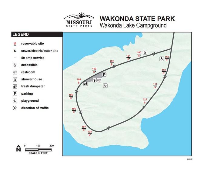 Wakonda State Park (Wakonda Lake Campground)