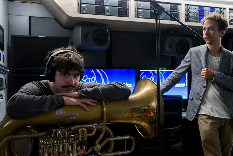 2013_08_20, Austria, Band session, eu.lb.org, genelec, JLETB, Salzburg, Sony, tuba