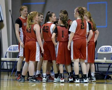FWC Basketball Girls 7th  1-14-2016