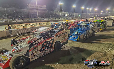Volusia Speedway - DIRTcar Big Blocks & Late Models - 2/11/20 - Tom Czaban