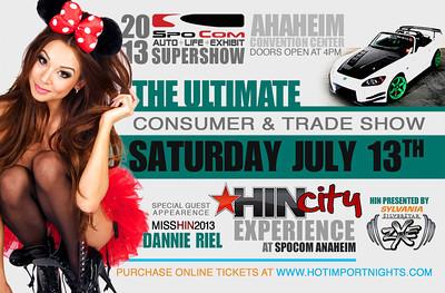 HIN 2013 Anaheim, CA 7.13.13