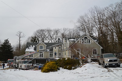 20140128 - Oyster Bay - House Fire