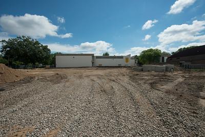 Huss Center construction