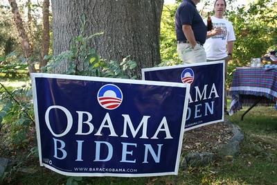 Obama/Biden & Local Dems, Port Republic 10-4-08