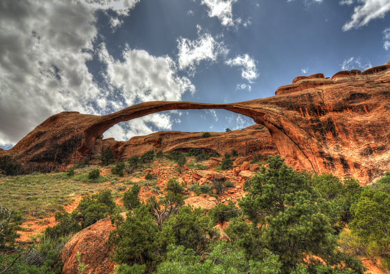 Landscape arch @ Arches national park