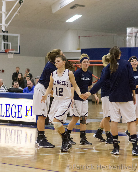 2013-12-14 Hillsdale College Women's Basketball vs. Michigan Tech