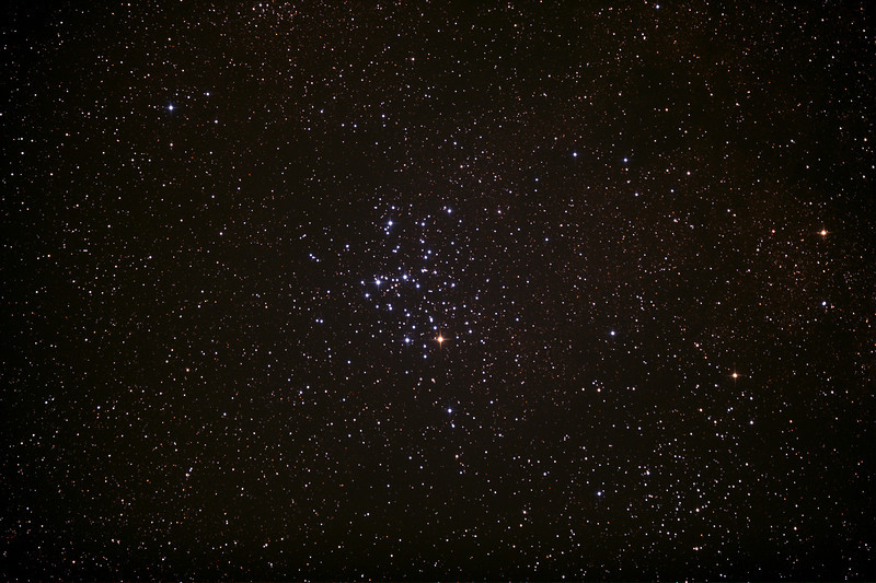 Messier M6 - NGC6405 - Butterfly Cluster - 29/6/2013 (Processed stack)