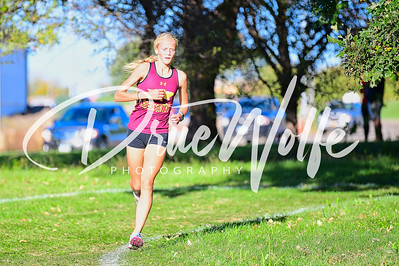 Ankeny Hawkettes and Jaguars Girls CIML Iowa Conference Cross Country Meet 10142021