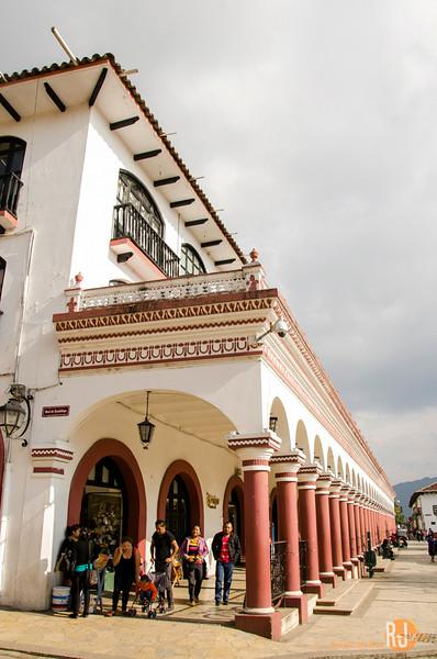 Near the city square of San Cristobal de las Casas