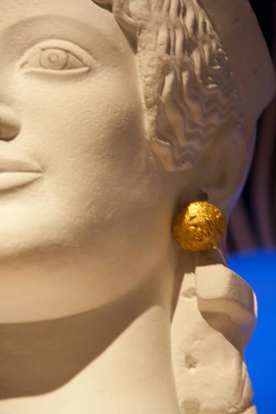 Athena's golden earring
