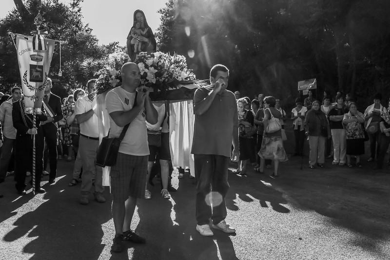 partenza della processione