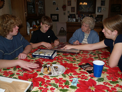 Christmas 2007 in NC - Yoders, Troyers, Bakers...