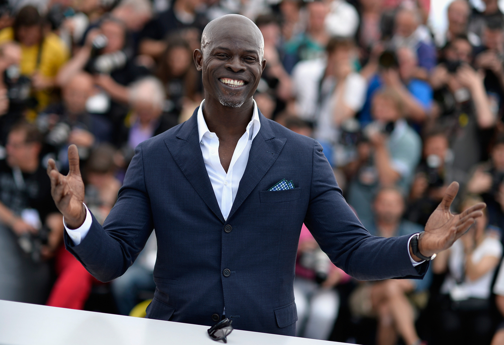 ". Actor Djimon Hounsou attends the ""How To Train Your Dragon 2\"" photocall during the 67th Annual Cannes Film Festival on May 16, 2014 in Cannes, France.  (Photo by Pascal Le Segretain/Getty Images)"