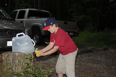 Camping at Albrights