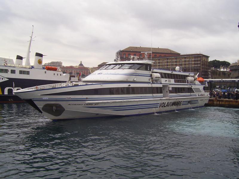 HSC AGOSTINO LAURO JET arriving to Napoli.