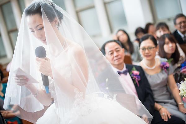 懷寧浸信會,台北凱撒大飯店/證婚+午宴/昌憲&君玲