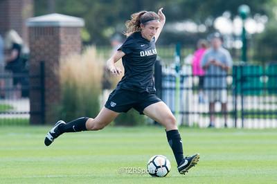OU Women's Soccer at Michigan State 9/3/2017