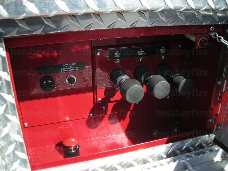 Officer's side stabilizer controls