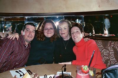 2004 12 05 - MIchele's belated Birthday dinner