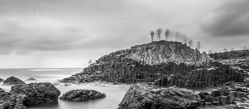 Ghosts Among the Giant's Causeway