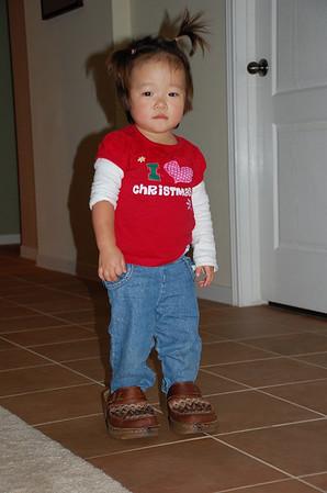 December 24, 2008 - Big Girl Shoes
