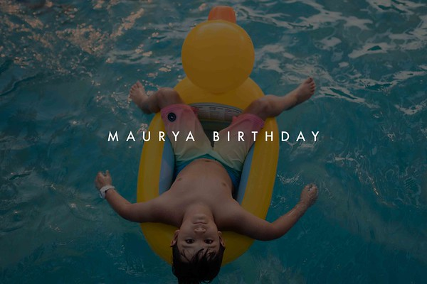 Maurya Birthday 2019
