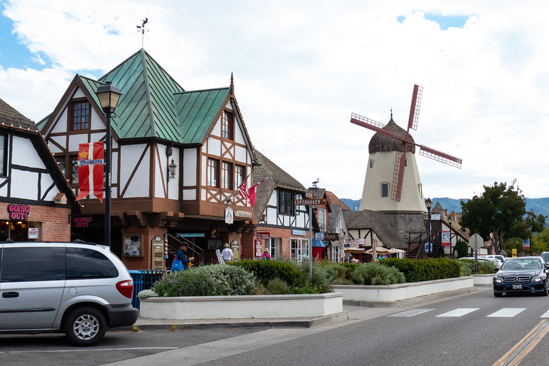 Downtown Solvang, CA