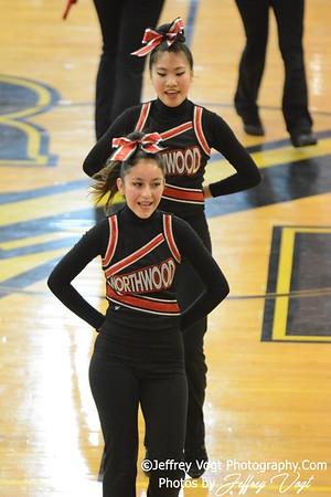 02-01-2014 Northwood HS Poms at MCPS County Championship Division 3,  Photos by Jeffrey Vogt Photography & Kyle Hall