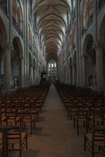 Noyon Cathedral Nave and Choir