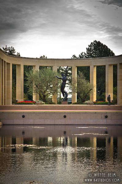 WW II Monument  2   Photography by Wayne Heim