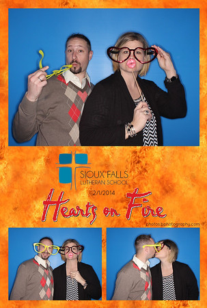 Hearts on Fire Auction 2014 Sioux Falls Lutheran School