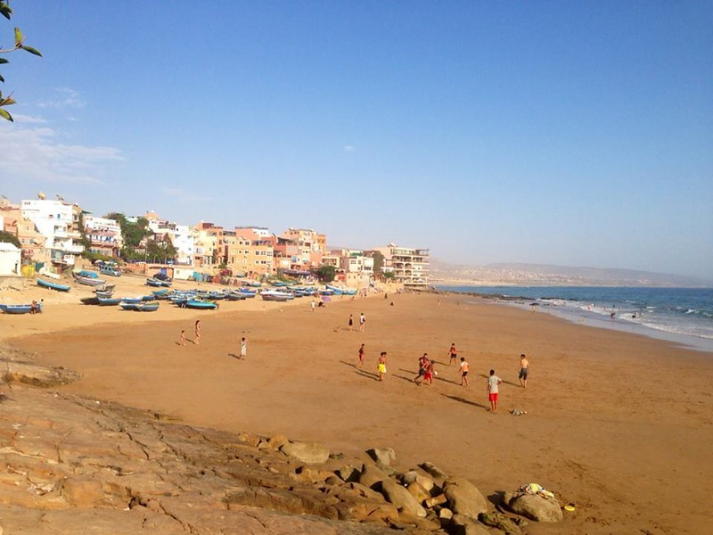 Visit Hash Bay, Taghazout on a solo female trip to Morocco.