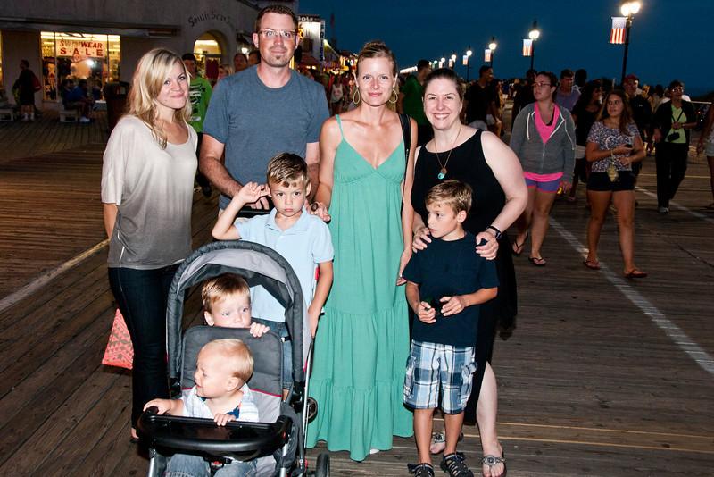 Iowa Greens Visit Ocean City & Lansdowne 2012