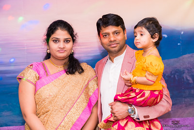 Aditi's First Birthday