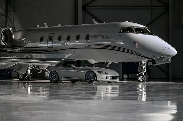Hangar photoshoot