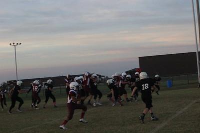 Oct. 17, 2016 OKU 8th Grade Football